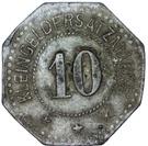10 Pfennig (Hayingen) [Lothringen, Gemeinde] – revers