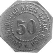50 Pfennig (Gardelegen) [Kreis, Provinz Sachsen] – avers