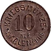10 Pfennig (Aalen) – revers