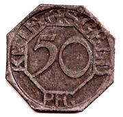 50 Pfennig (Dortmund) – revers