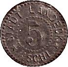 5 Pfennig (Landeck) [Stadt, Schlesien] – avers