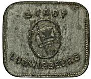 50 Pfennig (Ludwigsburg) – avers