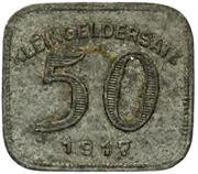 50 Pfennig (Ludwigsburg) – revers