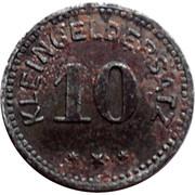 10 pfennig (Tailfingen) [Stadt Württemberg] – revers