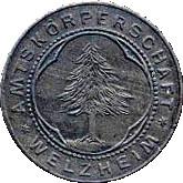 10 pfennig (Welzheim) – avers