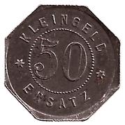 50 Pfennig (Leutkirch) [Oberamtsstadt, Württemberg] – revers