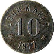 10 Pfennig (Höhn) [Private, Gewerkschaft Alexandria] – revers
