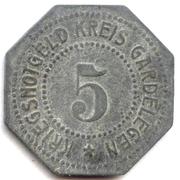 5 Pfennig (Gardelegen) – avers