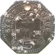 5 Pfennig (Eschwege) [Stadt, Hessen-Nassau] – avers