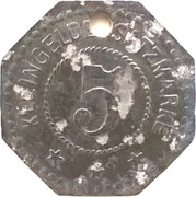 5 Pfennig (Eschwege) [Stadt, Hessen-Nassau] – revers