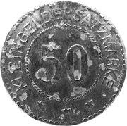 50 Pfennig (Melsungen) [Stadt, Hessen-Nassau] – revers