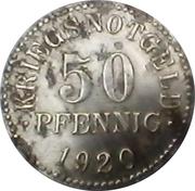 50 Pfennig (Braunschweig) [Herzogtum, Staatsbank] – revers
