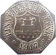 50 Pfennig (Pinneberg) [Private, Schleswig-Holstein, Pinneberger Bank] – avers