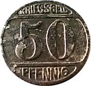 50 Pfennig (Lüdenscheid) [Stadt, Westfalen] – revers