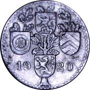 10 Pfennig (Dieburg) [Kreis, Hessen] – avers