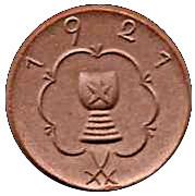 50 Pfennig (Kitzingen)[Stadt, Bayern] – revers
