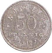 50 Pfennig (Kelheim) [Stadt, Bayern] – revers