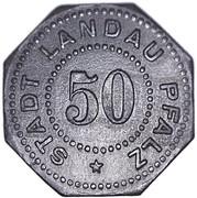 50 Pfennig Landau [Stadt, Pfalz] – avers