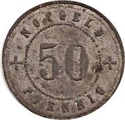 50 Pfennig (Landsberg am Lech) [Stadt, Bayern] – revers