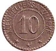 10 Pfennig (Köslin) [Stadt] – revers