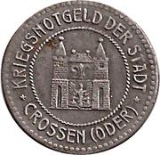 50 Pfennig (Crossen) [Stadt, Brandenburg] – avers