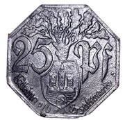 25 Pfennig Weilburg an der Lahn [Stadt, Hessen-Nassau] – revers