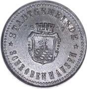 10 Pfennig Schrobenhausen [Stadt, Bayern] – avers