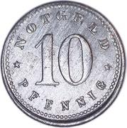 10 Pfennig Schrobenhausen [Stadt, Bayern] – revers