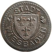 10 pfennig (Wiesbaden) – avers