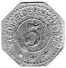 5 Pfennig - Forbach (57) – revers