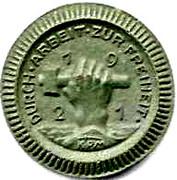 50 Pfennig (Waldenburg)[Statd Gemeinde] – avers