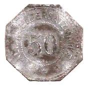 50 Pfennig (Unter Peissenberg) [Stadt, Bayern] – revers
