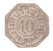 10 Pfennig (Eberbach) [Stadt, Württemberg] – avers