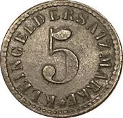 5 Pfennig Arnsberg [Stadt, Westfalen] – revers