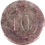 10 Pfennig (Cassel) [POW, Hessen-Nassau] – revers