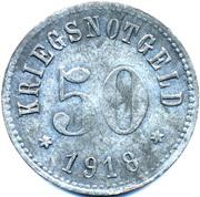 50 Pfennig (Rodach) [Stadt, Sachsen-Coburg] – revers