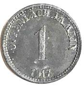 1 Pfennig (Offenbach am Main) [Stadt, Hessen] – avers