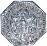50 Pfennig (Sagan) [Stadt, Schlesien] – avers