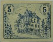 5 Pfennig (Auma) – revers
