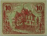 10 Pfennig (Auma) – revers