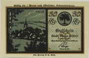 50 Pfennig (Berga an der Elster; Silhouette Series) -  avers
