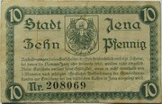 10 Pfennig (Jena) – revers
