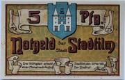 5 Pfennig (Stadtilm) – avers
