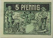 5 Pfennig (Triptis) – revers