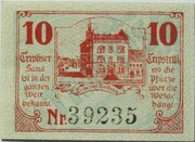10 Pfennig (Triptis) – revers