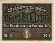10 Pfennig (Kahla) – avers