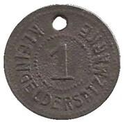 1 pfennig - München (Gaswerk A.D.Dachauerstr) – avers