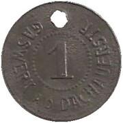 1 pfennig - München (Gaswerk A.D.Dachauerstr) – revers