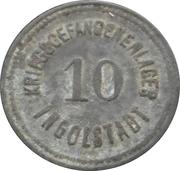 10 pfennig - Ingolstadt (Kriegsgefangenenlager) – avers