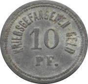 10 pfennig - Ingolstadt (Kriegsgefangenenlager) – revers